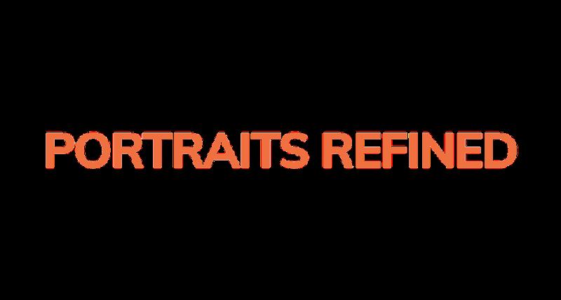 Portraits Refined logo.